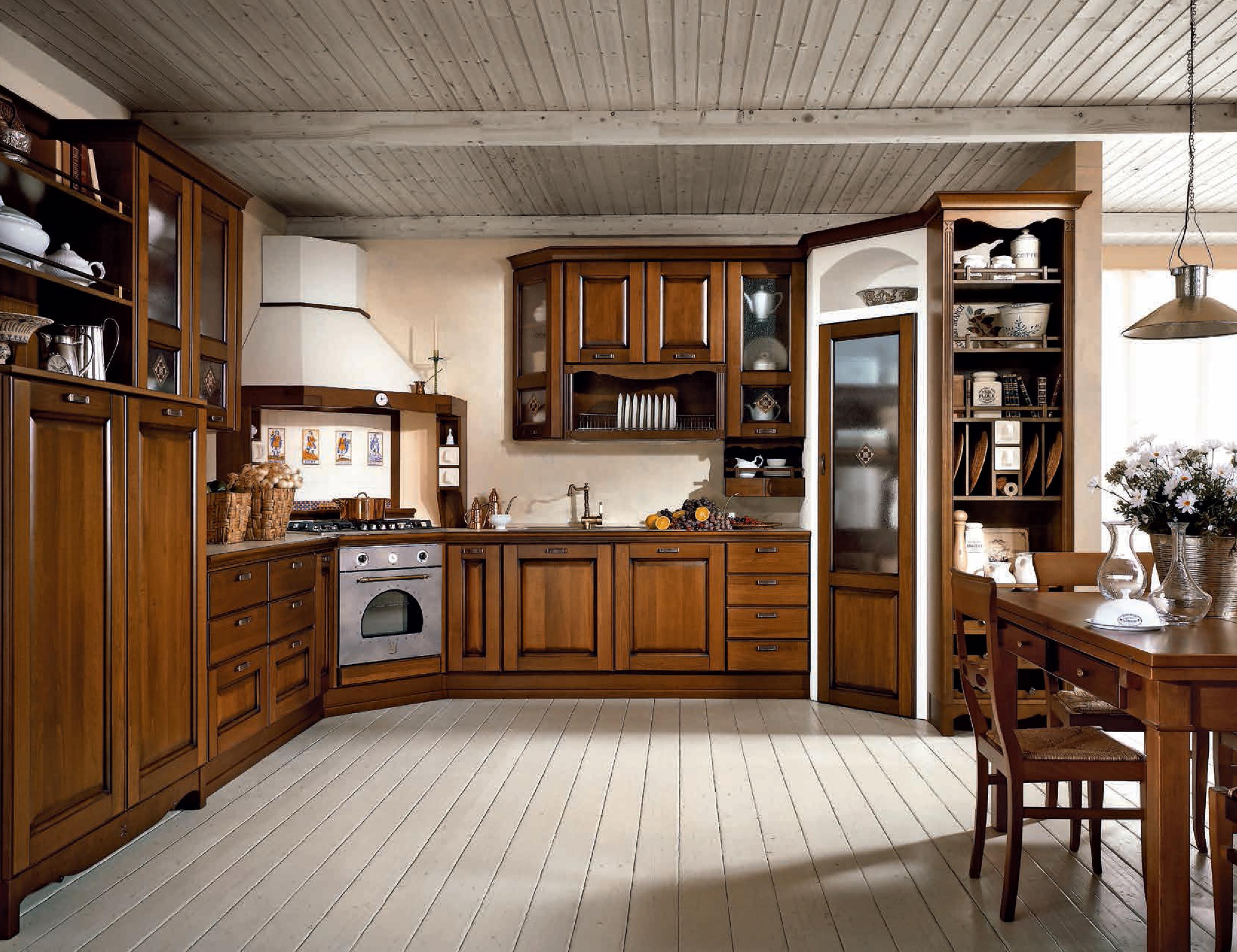 Italian wooden kitchens